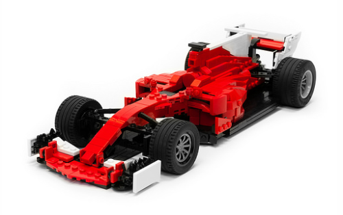 Lego Ferrari SF70H F1 Car