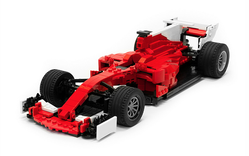 lego ferrari sf70h f1 car the lego car blog. Black Bedroom Furniture Sets. Home Design Ideas