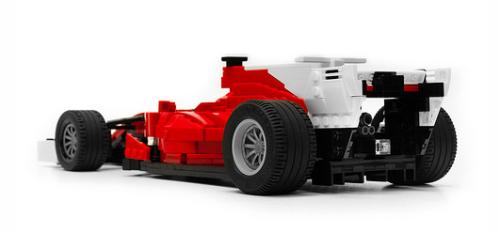 Lego Ferrari 2017 F1 Car