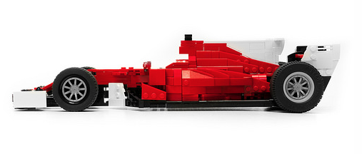 lego ferrari sf70h formula 1 car the lego car blog. Black Bedroom Furniture Sets. Home Design Ideas