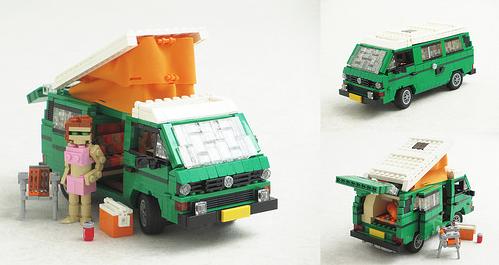 Lego Volkswagen T3 Westfalia Camper