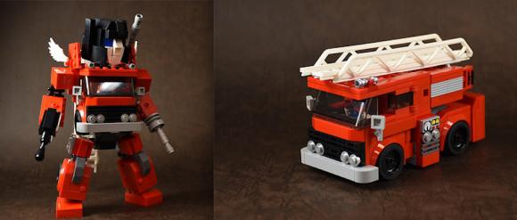 Lego Chibi Transformers