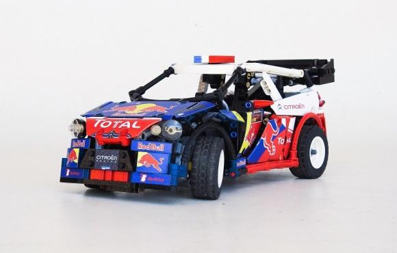 Lego Remote Control Citroen DS3 WRC