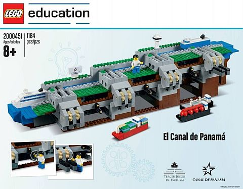 LEGO Education Panama Canal Set