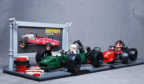 Lego Formula 1 1967 Ferrari vs Brabham
