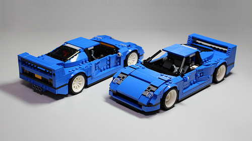 lego creator 31070 ferrari f40 the lego car blog. Black Bedroom Furniture Sets. Home Design Ideas