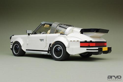 lego porsche 911 targa the lego car blog. Black Bedroom Furniture Sets. Home Design Ideas