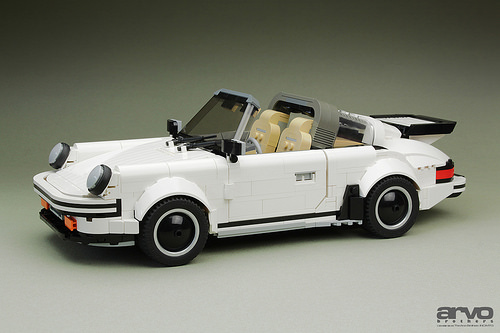 Lego Porsche 911 Targa