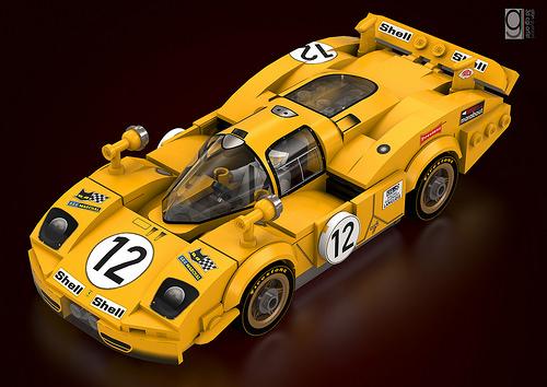 Lego Ferrari 512s Longtail 1970