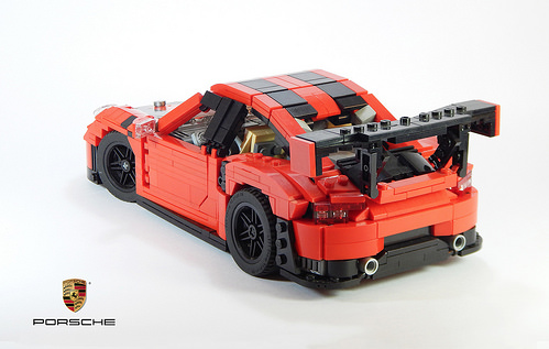 lego porsche 911 gt2 rs the lego car blog. Black Bedroom Furniture Sets. Home Design Ideas