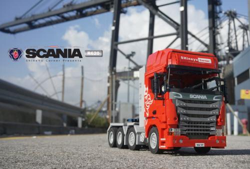 Lego Scania R620 8x4 Truck Remote Control