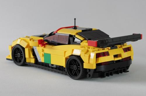 Lego Corvette C7R