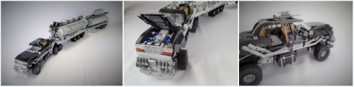Lego Mad Max Fury Road People Eater's Limousine