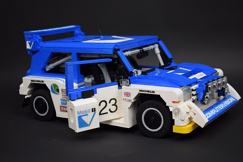Lego MG Metro 6R4 Group B