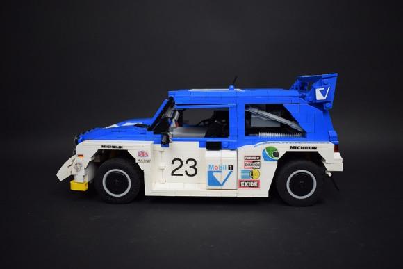 Lego Remote Control Metro 6R4
