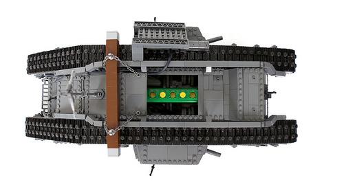 Lego Mark V Tank RC