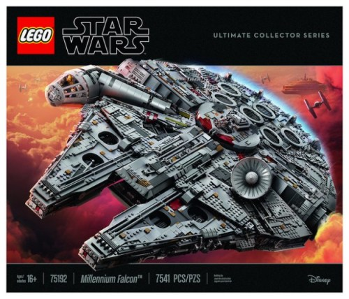 Lego Star Wars 75192 UCS Millennium Falcon – Set Preview | THE LEGO ...