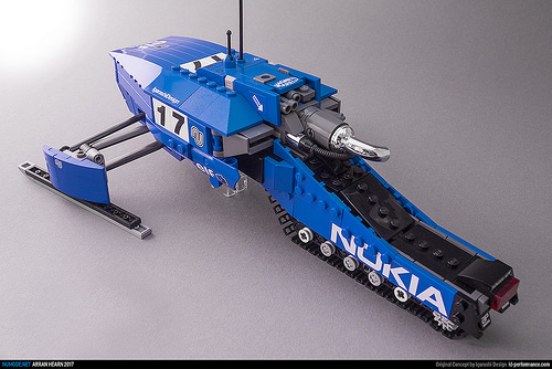 Lego ID-Performance Ski Mobile Concept