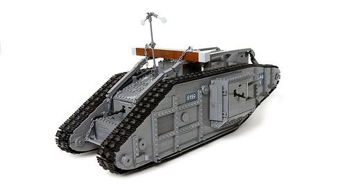 Lego Remote Control Tank