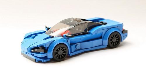 Mclaren In Miniature The Lego Car Blog