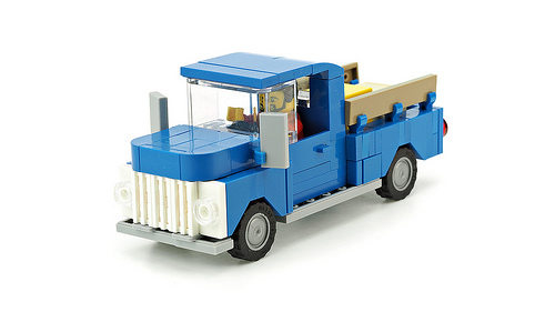 Lego Town Pick-Up Truck