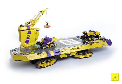 Lego Remote Control Land Carrier