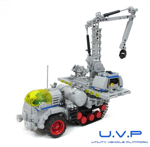 Lego Sci-Fi Vehicle