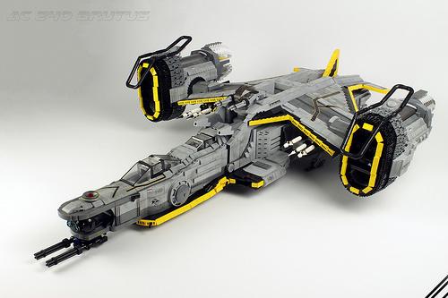 Lego SHIPtember Brutus spaceship