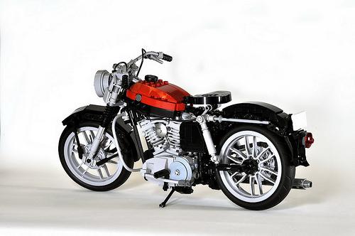 1957 Harley Davidson Sportster Lego Motorcycle