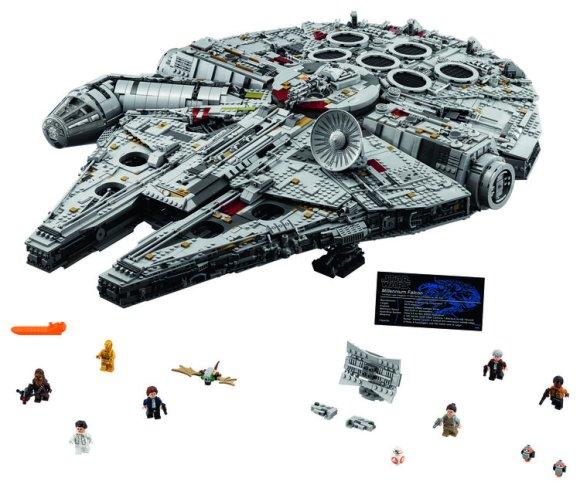 75192 Millennium Falcon Biggest Lego Set Ever
