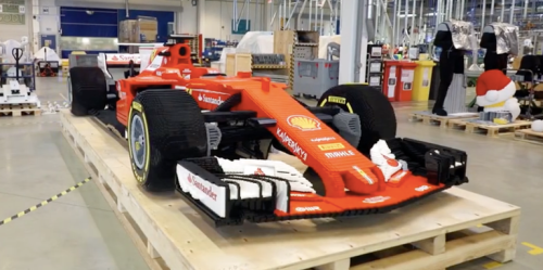 Lego Scuderia Ferrari SF70H Formula 1 Car