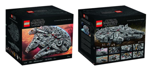 75192 Millennium Falcon Biggest Lego Set Ever | THE LEGO CAR BLOG
