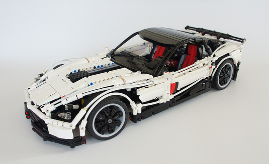 lego technic chevrolet corvette z06 remote control the. Black Bedroom Furniture Sets. Home Design Ideas