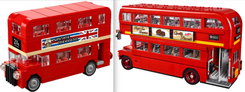 Lego 10258 London Bus Review