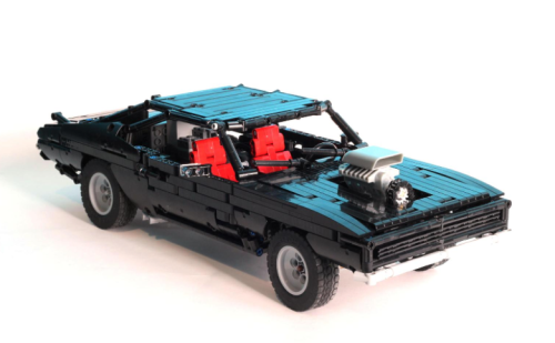 Lego Technic Supercharged Muscle Car RC