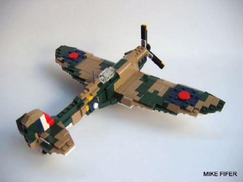 Lego Supermarine Spitfire