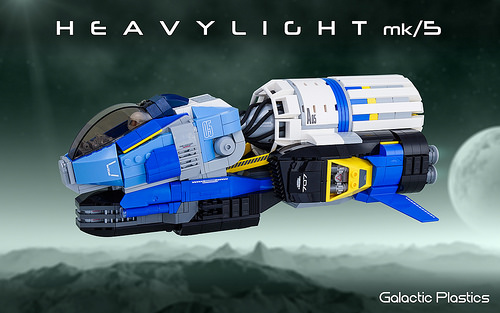 Lego Heavy Light Spaceship