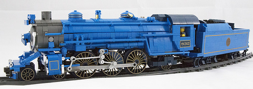 Lego Blue Comet Locomotive