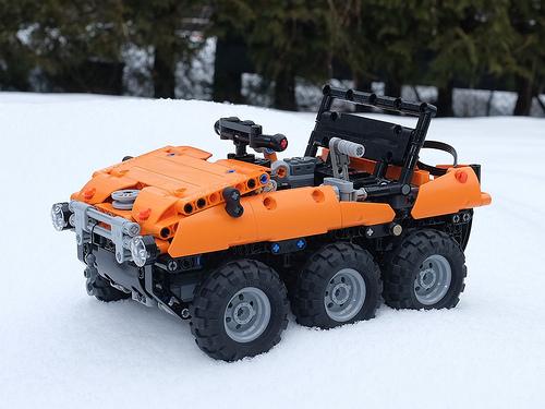 Lego Technic Argo 6x6