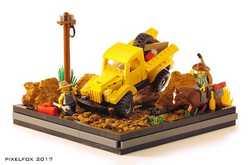 Lego Dodge Power Wagon