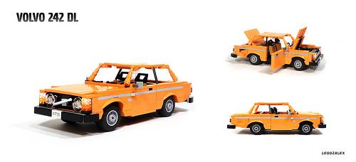 Lego Volvo 240 DL