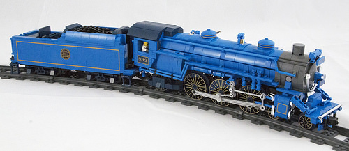 Lego Blue Comet Steam Train