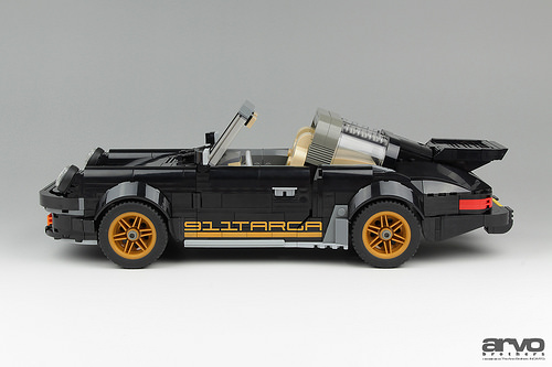 Black and Gold | THE LEGO CAR BLOG on 2017 porsche boxster, 2017 porsche gt3, 2017 ford gt targa, 2017 porsche cayman, 2017 porsche cayenne,