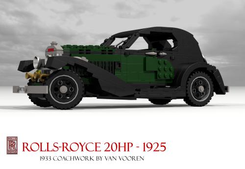 Lego Rolls-Royce 20HP Van Vooren
