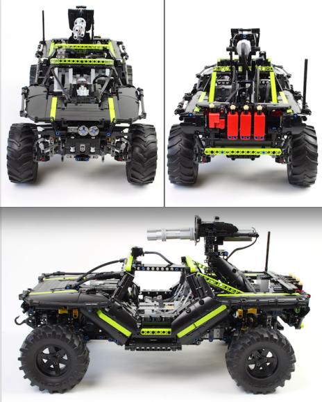 Lego Halo Warthog Remote Control