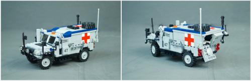 Lego Oshkosh Jackel M-ATV AA