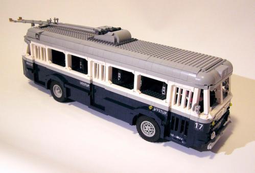 Lego Škoda 7Tr2 Trolley Bus