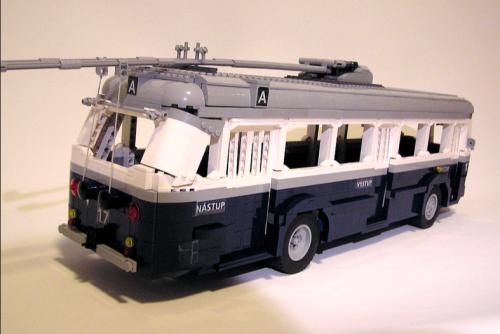 Lego Skoda Trolleybus 1951