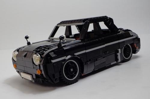 Lego Renault Dauphine Yamaha