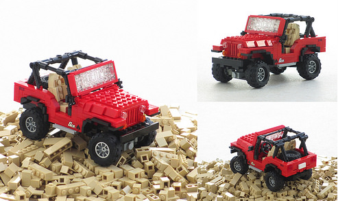 Jeep The Lego Car Blog
